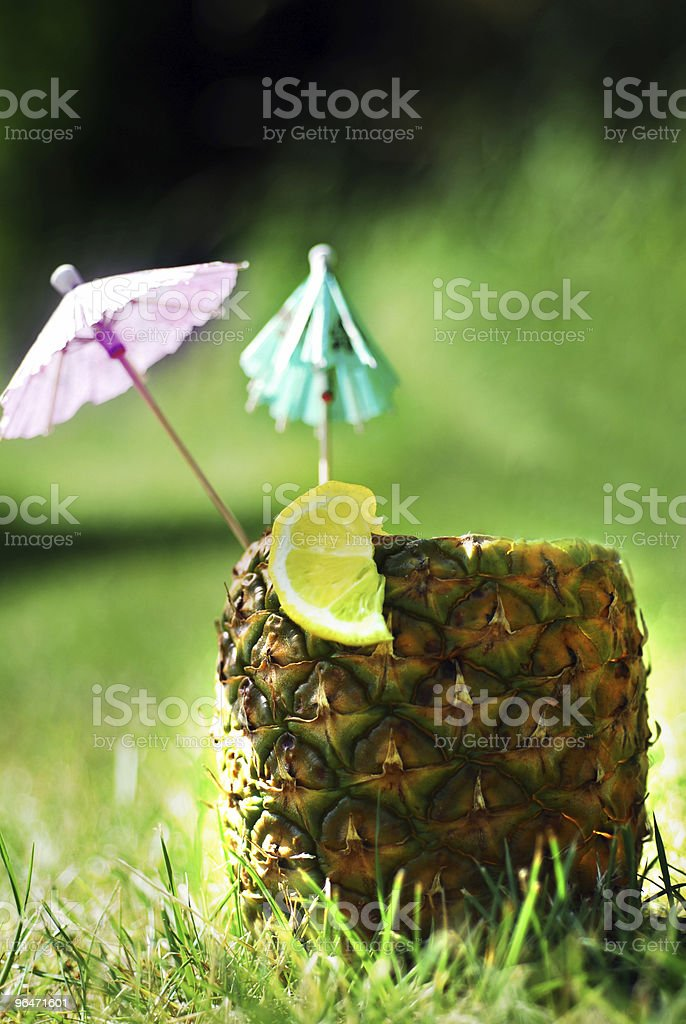 Pineapple drink royalty-free stock photo