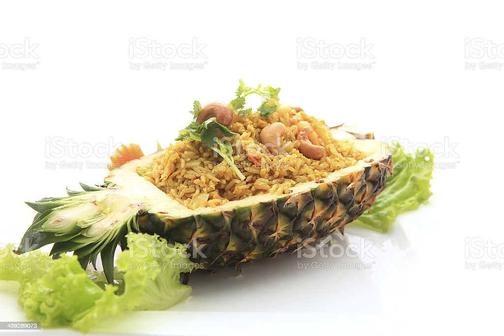 Ananas Gebratener Reis – Foto
