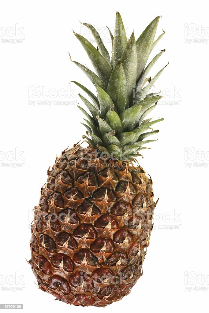 Pineapple fruit royalty-free stock photo
