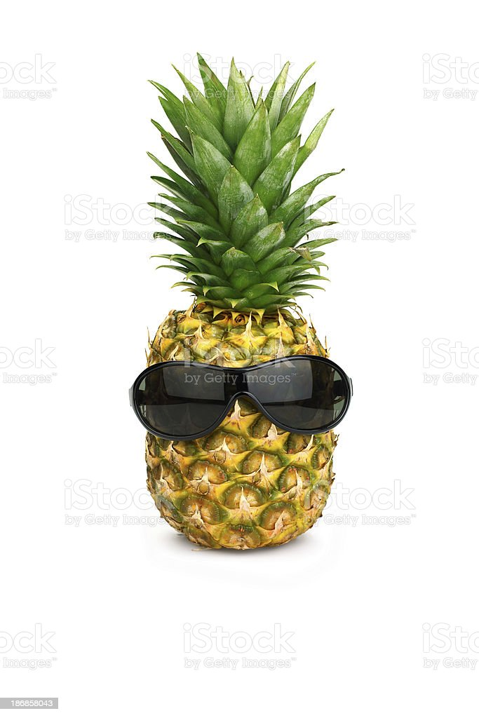 Ananas avec des lunettes de soleil - Photo