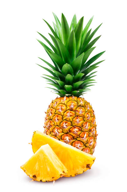 Ananas isolé sur fond blanc - Photo