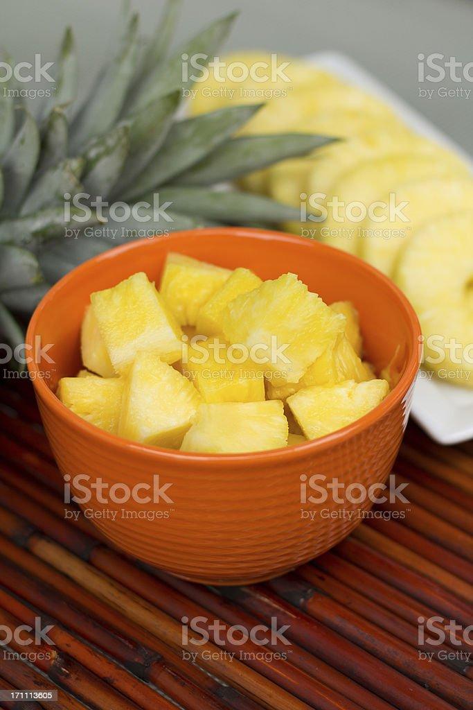 pineapple royalty-free stock photo