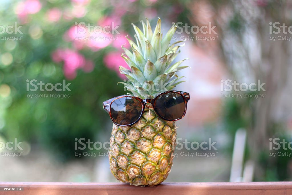 Pineapple royalty-free stock photo