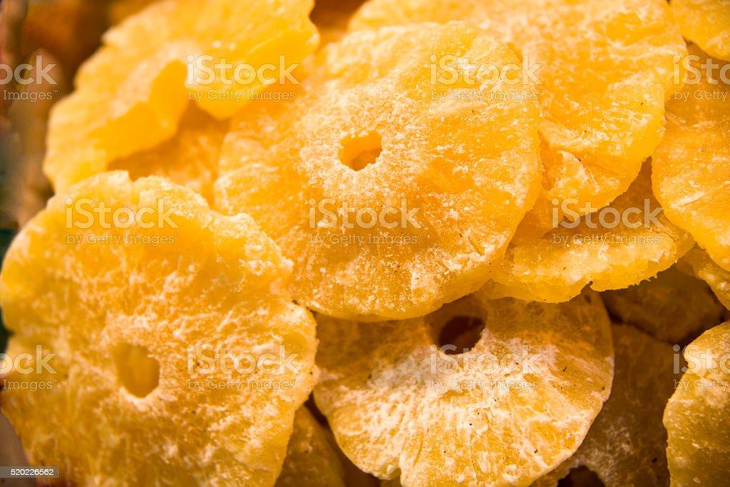 Pineapple Rings stock photo