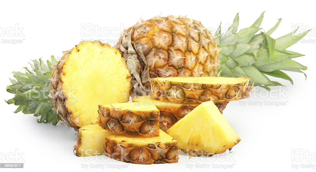 pineapples royalty-free stock photo