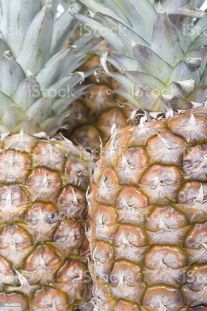 Pineapples. royalty-free stock photo