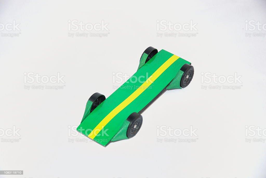 Pinewood Car stock photo