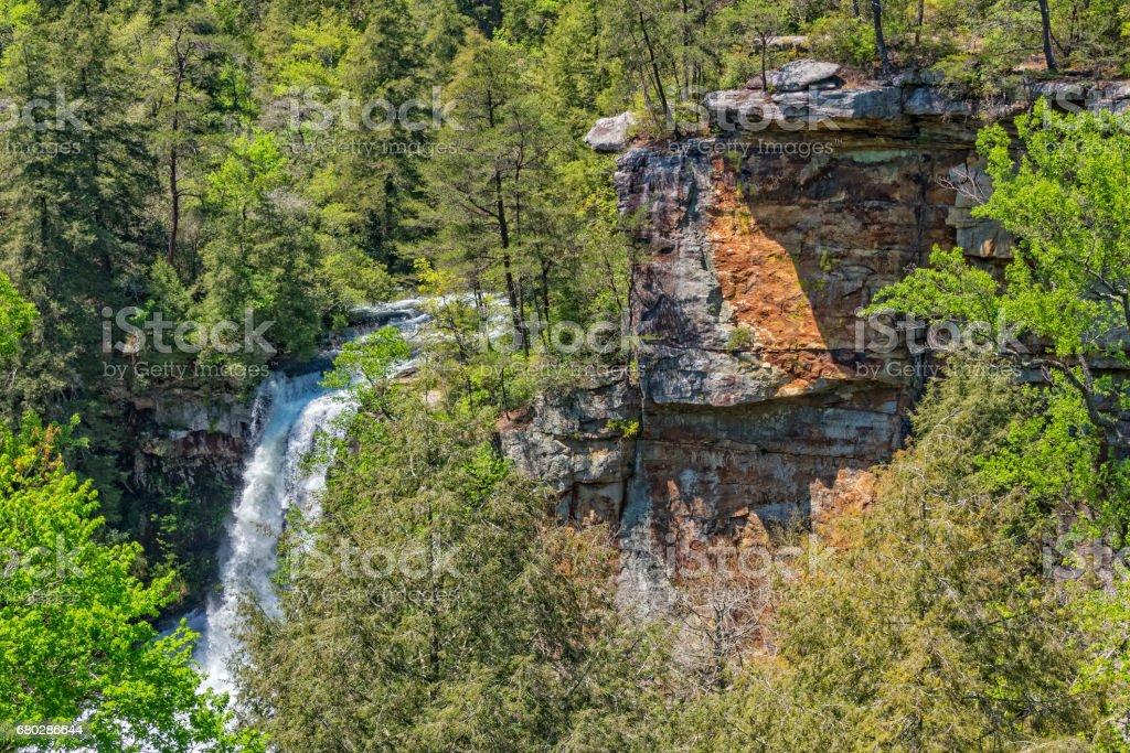 Piney Creek Falls In Fall Creek Falls State Park stock photo