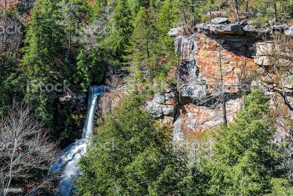 Piney Creek Falls stock photo