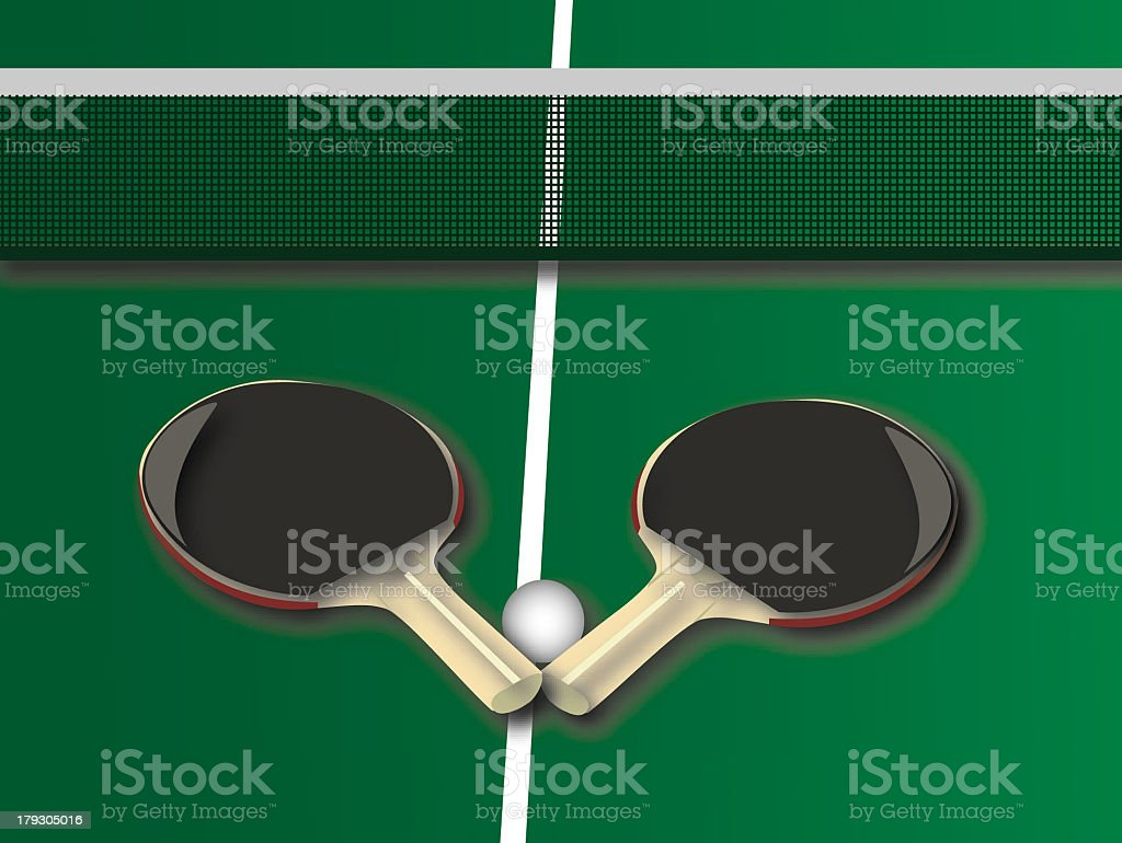 Ping Pong Game royalty-free stock photo