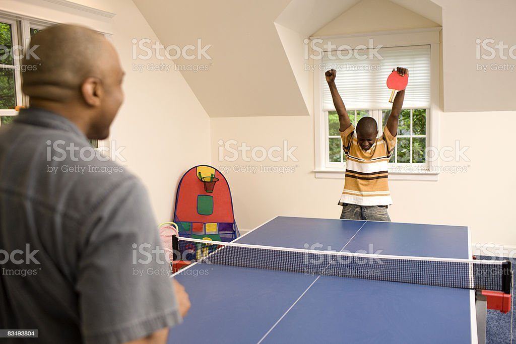 ping pong game royalty-free stock photo