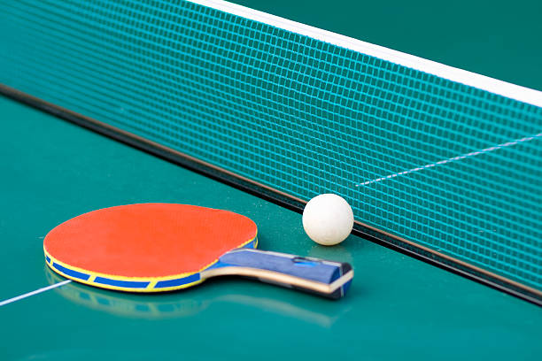 ping-ponga - rakietka do tenisa stołowego zdjęcia i obrazy z banku zdjęć