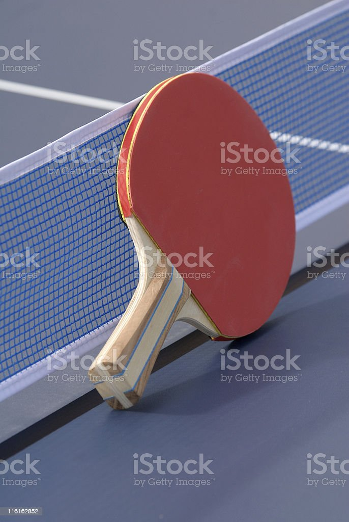 Ping Pong Paddle royalty-free stock photo