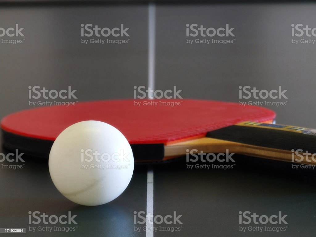 ping pong stock photo
