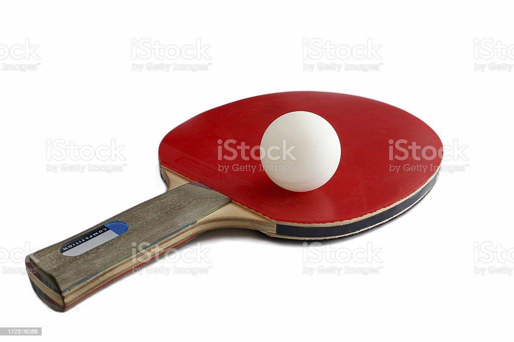 Ping Pong racket royalty-free stock photo
