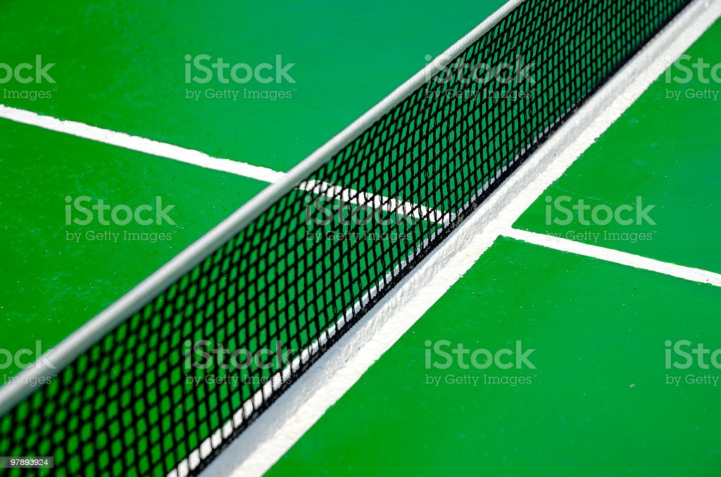 ping pong table royalty-free stock photo