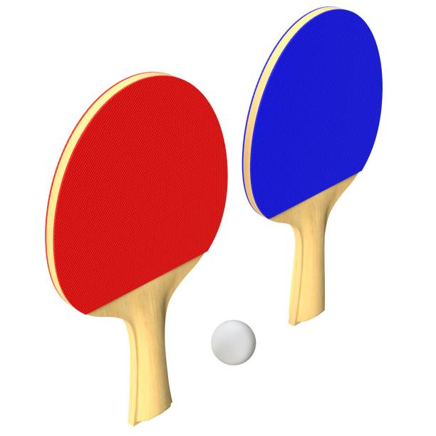 Ping-pong paddles set - foto stock