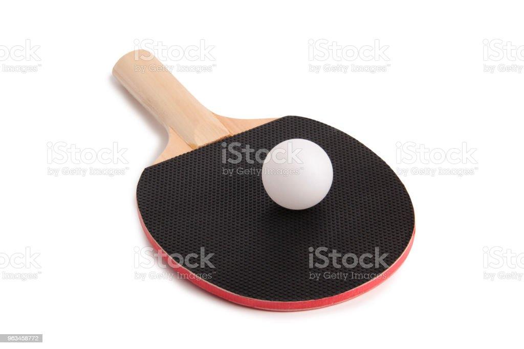 Ping-pong racket - Zbiór zdjęć royalty-free (Chiny)