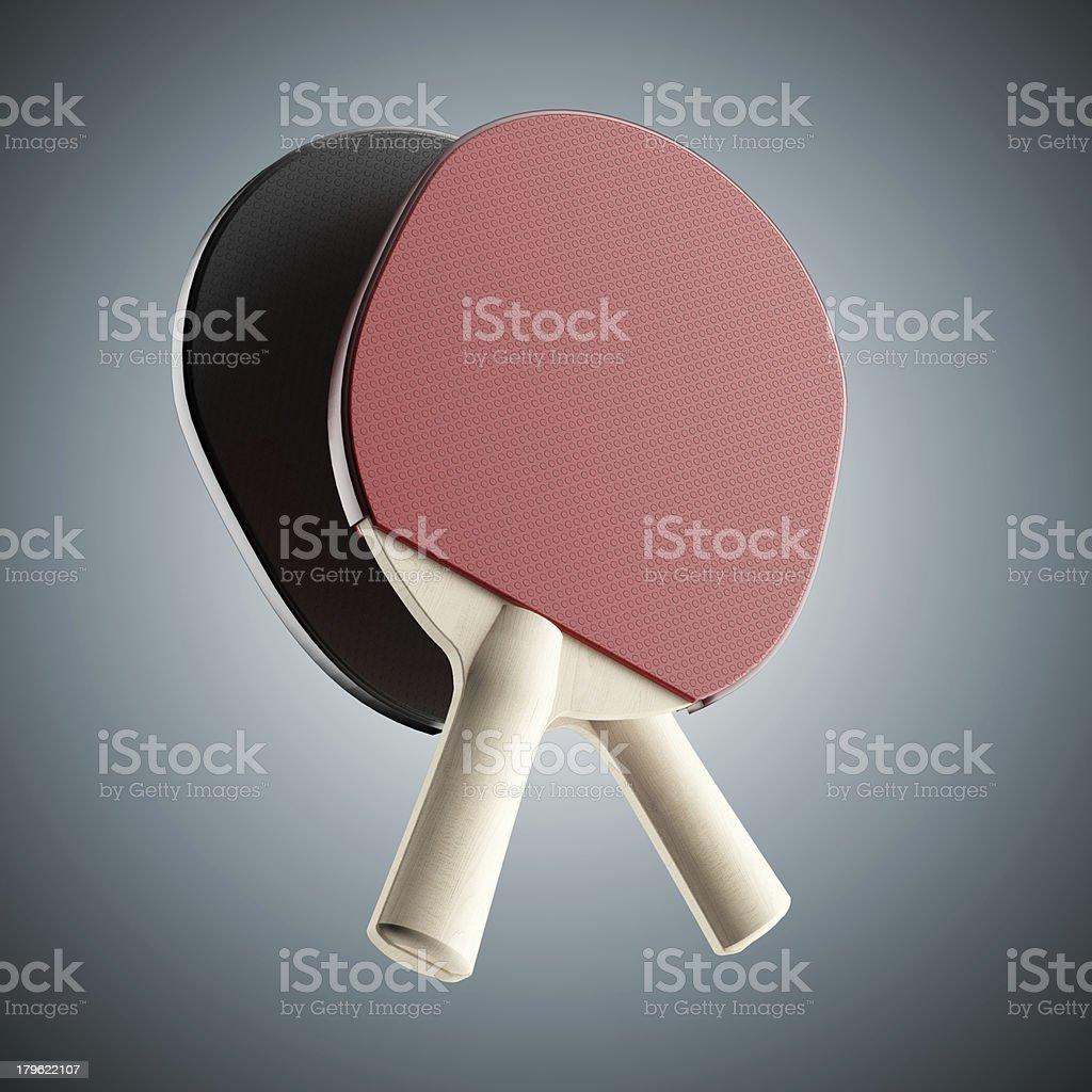 ping-pong rackets royalty-free stock photo