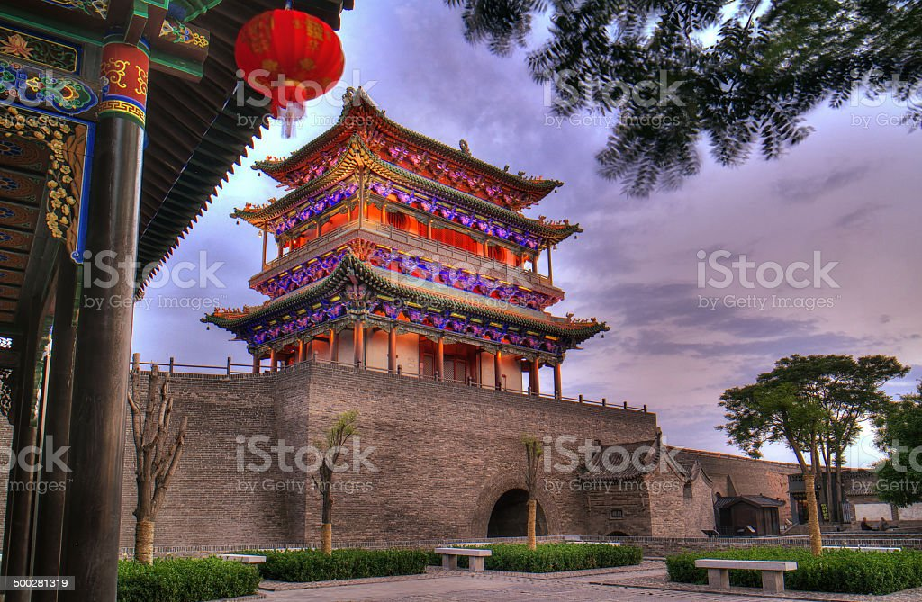Pingyao stock photo