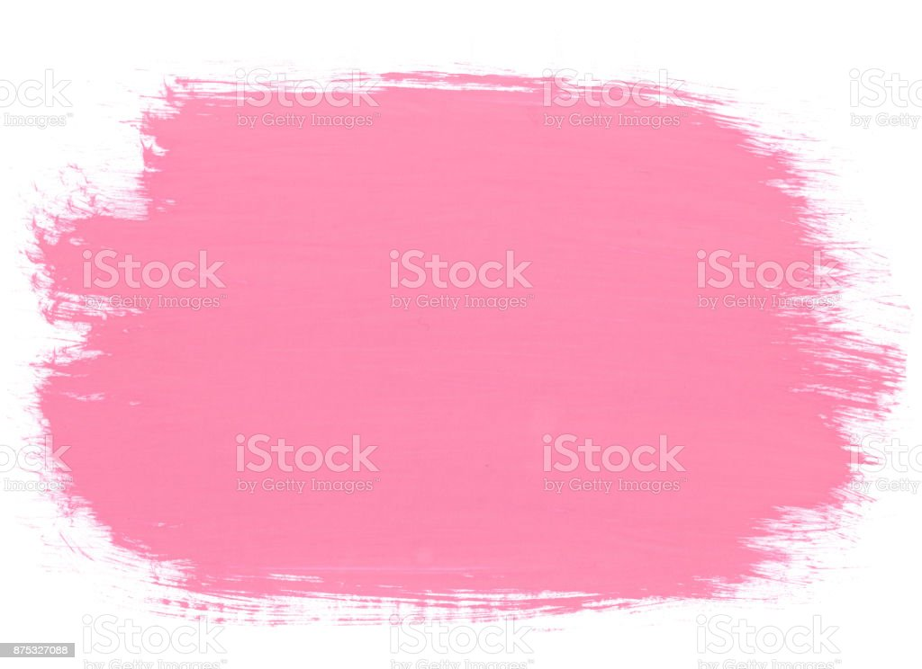 Pink abstract aquarel watercolor background stock photo