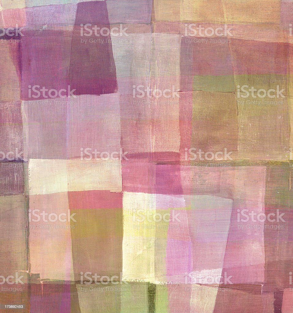 Pink Abstract Art royalty-free stock photo