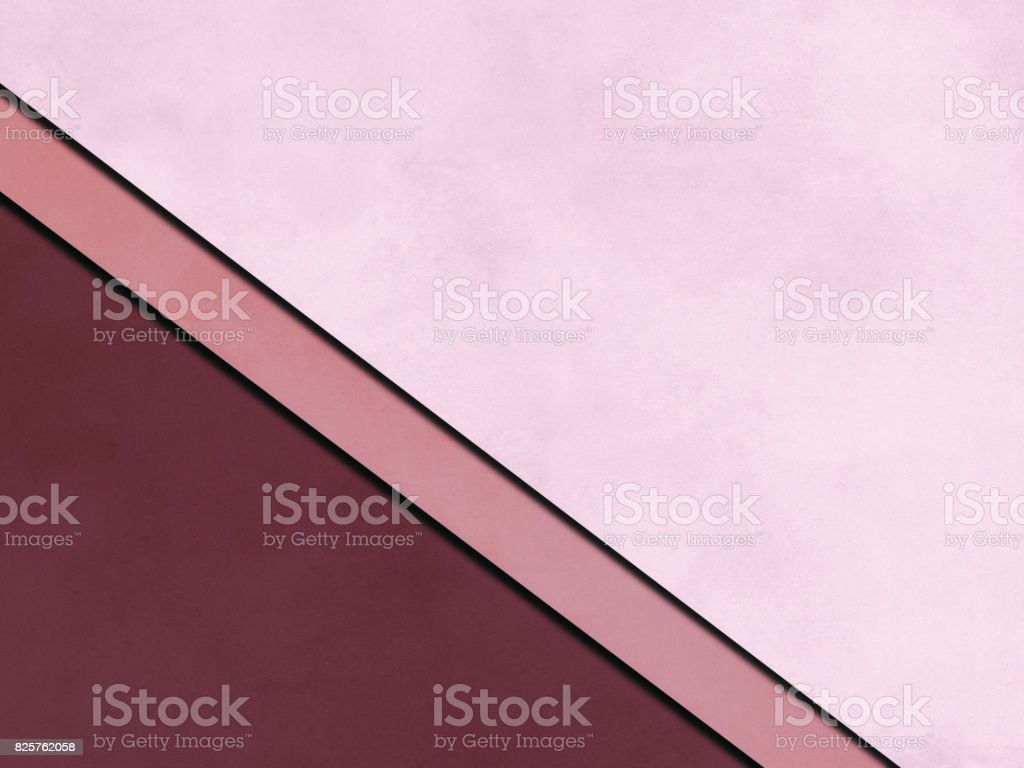 Pink Abstract Background, paper cutting style stock photo