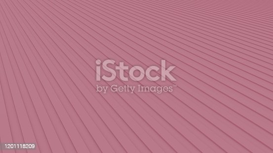 istock Pink abstract striped background, 3D-rendering 1201118209