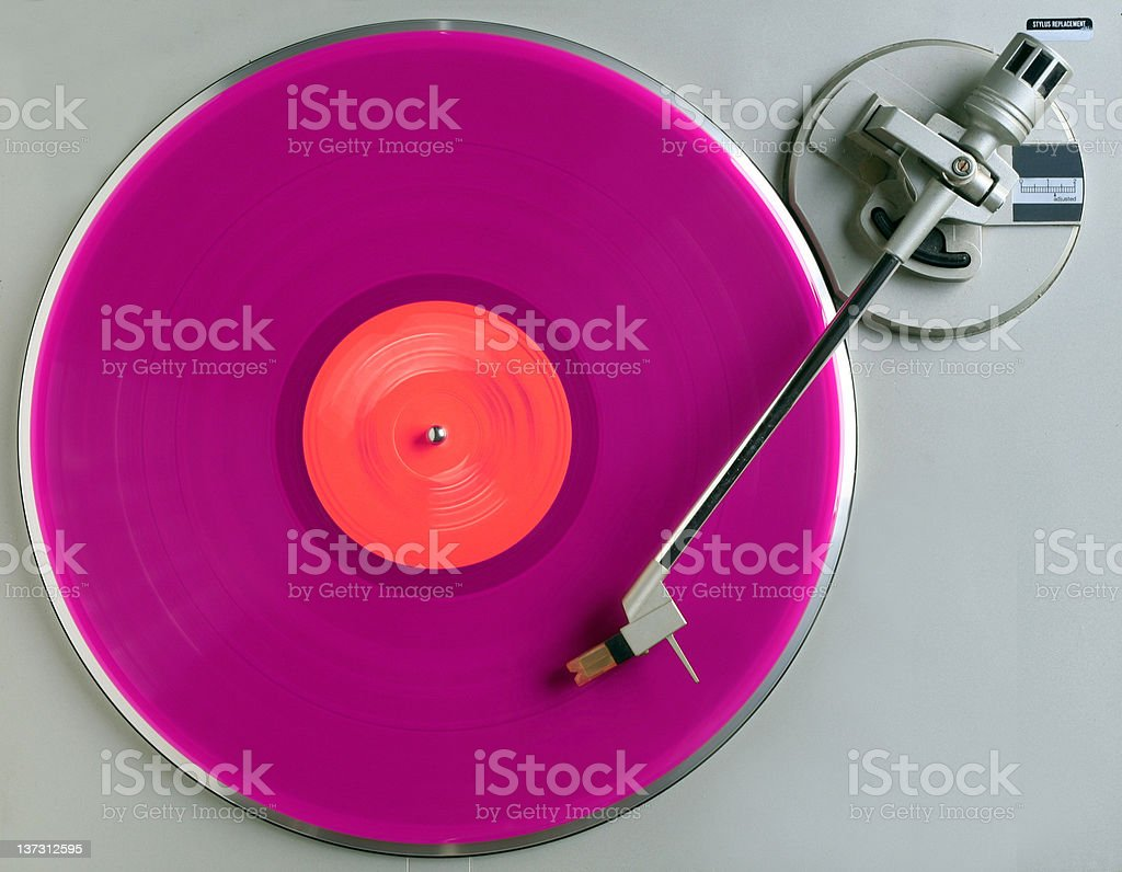 pink album stock photo