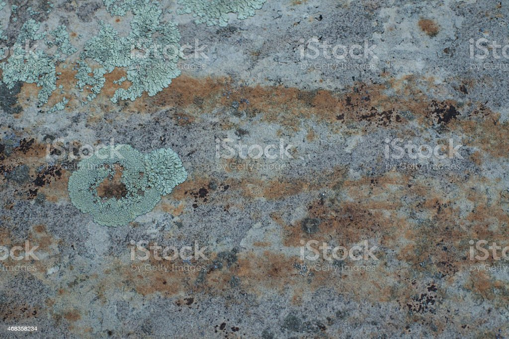 Pink and grey desert rock wall royalty-free stock photo