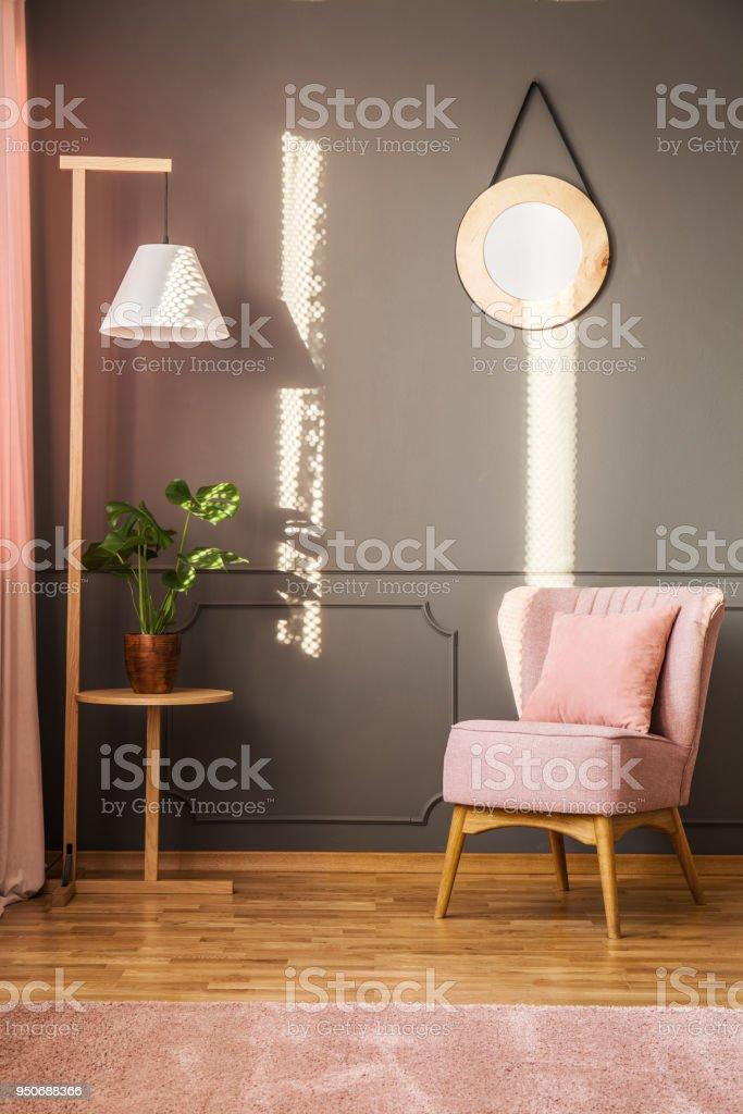 Photo libre de droit de Salon Rose Et Gris banque d\'images et plus d ...