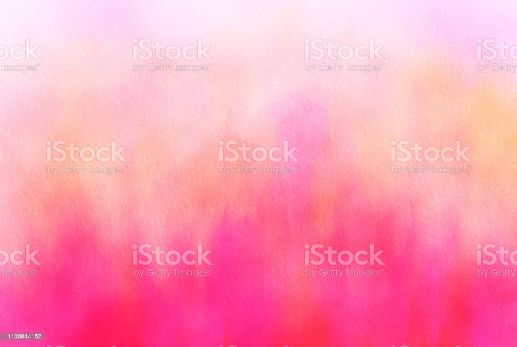 Pink and Orange abstract art painted background stock photo
