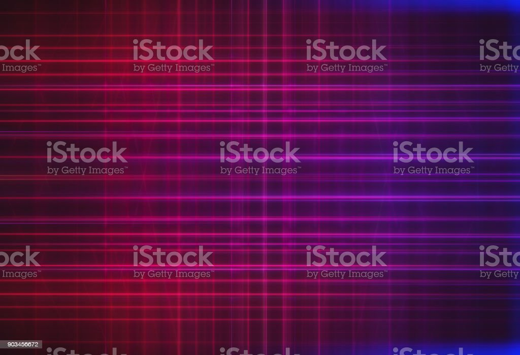Pink and purple scanlines illustration background stock photo