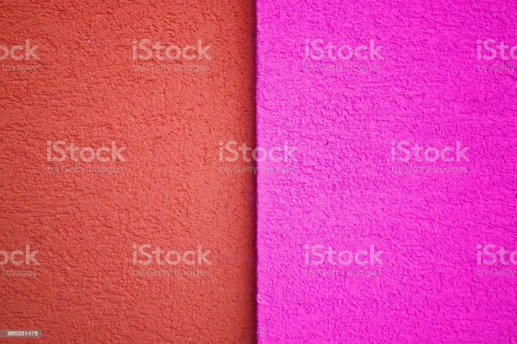Pink And Red Concrete Tile Floor, Wall, Fence royalty-free stock photo