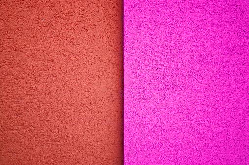 핑크색과 붉은 콘크리트 타일 바닥 벽 울타리 0명에 대한 스톡 사진 및 기타 이미지