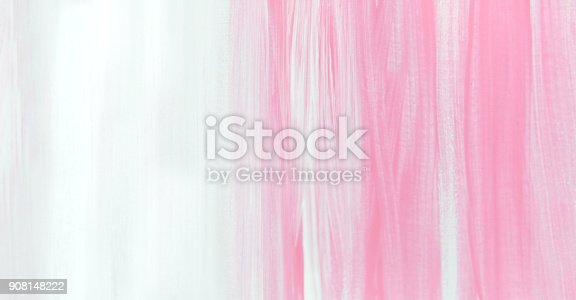 istock Pink and white abstract art background 908148222