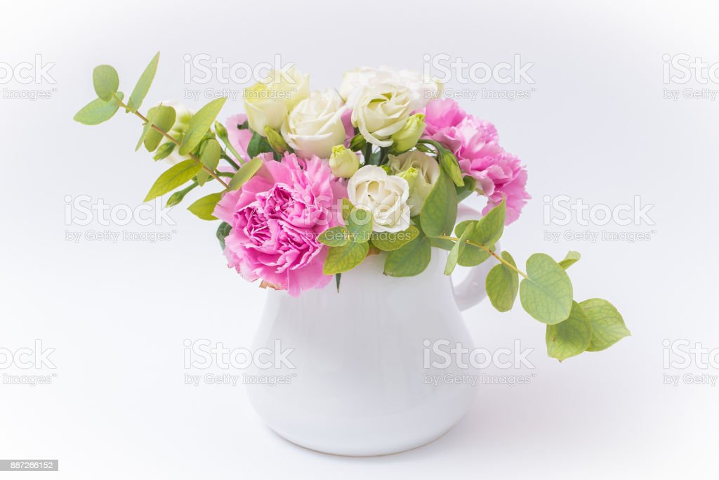 Pink and white bunch of flowers stock photo more pictures of pink and white bunch of flowers royalty free stock photo mightylinksfo