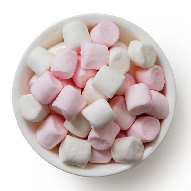 Mini Marshmallows Stock Photos, Pictures & Royalty-Free