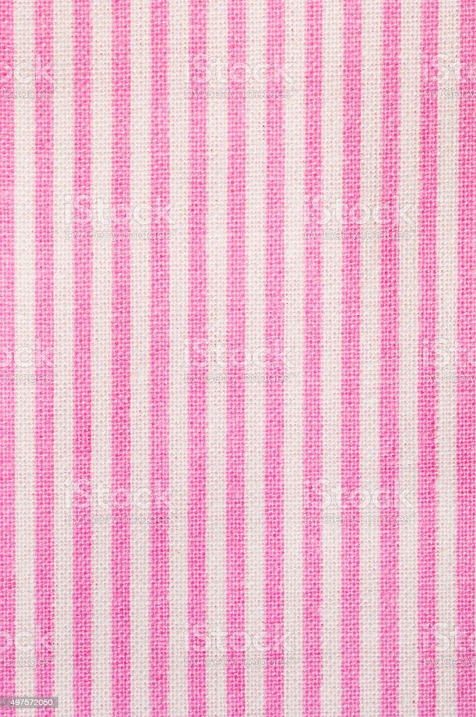 Rosa Sfondo Tessuto A Righe Bianche E Fotografie Stock E Altre