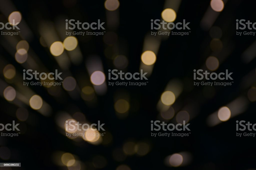 Pink and yellow color bokeh and moving blur of light - Royalty-free Abstract Stock Photo