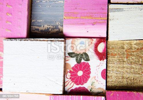 istock Pink Background 667694288