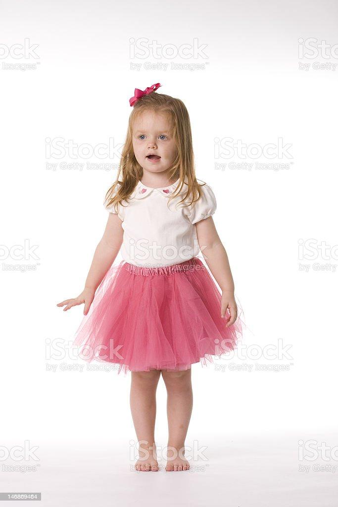 Rosa Ballerina Posieren – Foto