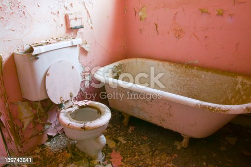 Pink Bathroom Stock Photo & More Pictures of Bathroom | iStock