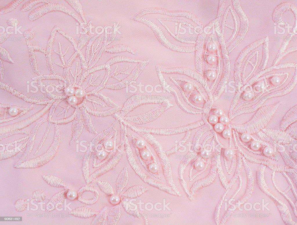 Pink Bead Detail royalty-free stock photo