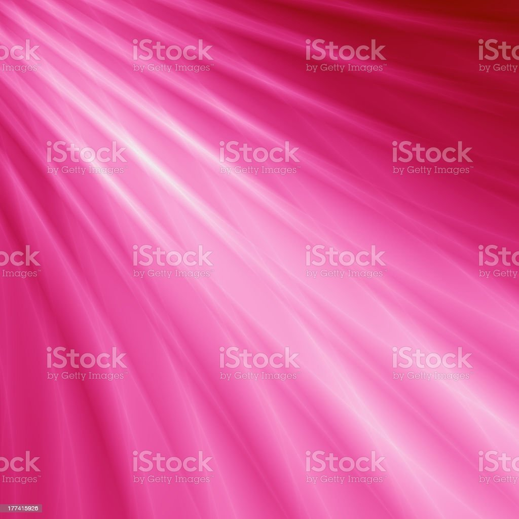 Pink beam abstract card design stock photo