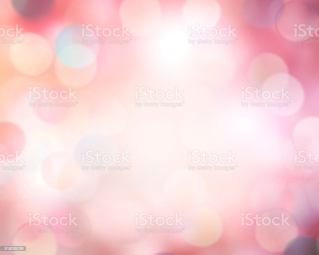 Pink blur defocused bokeh abstract background. stock photo
