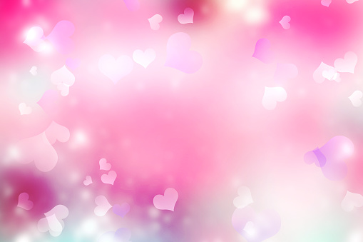 896306118 istock photo Pink blurred valentine background. 875937248