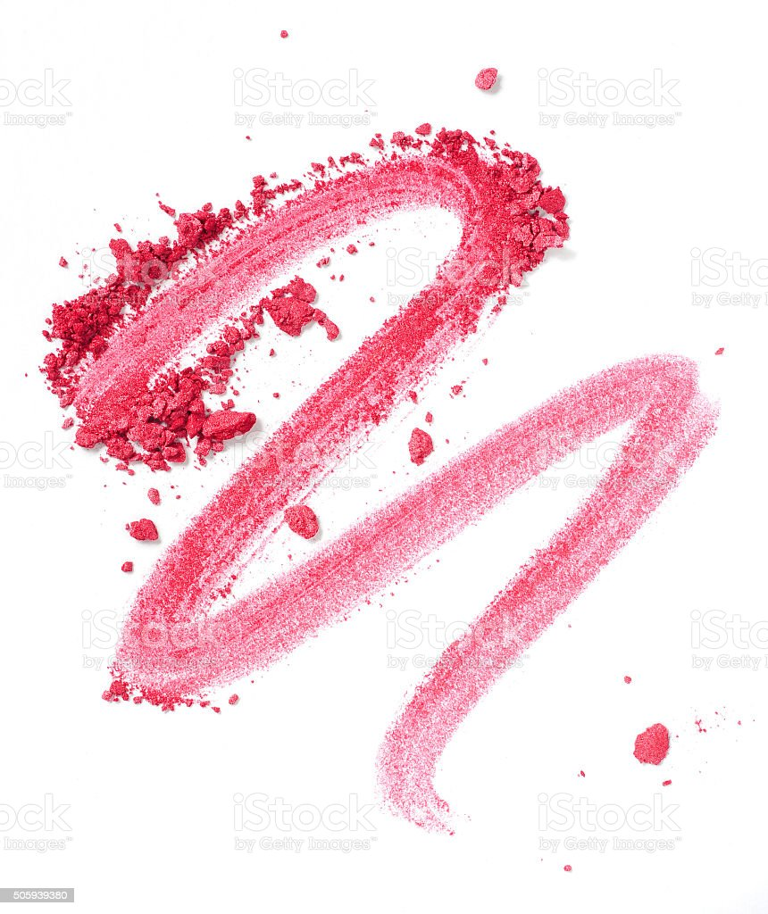 pink blush stock photo