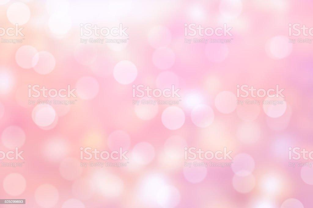 pink bokeh background stock photo
