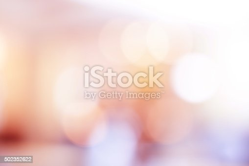 istock Pink bokeh light background. 502352622